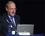 Presentation of the lecture by Martin Parry (20/10/2008)