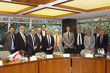 Dirigentes da FAPESP recebem reitores da Universidade de Lyon